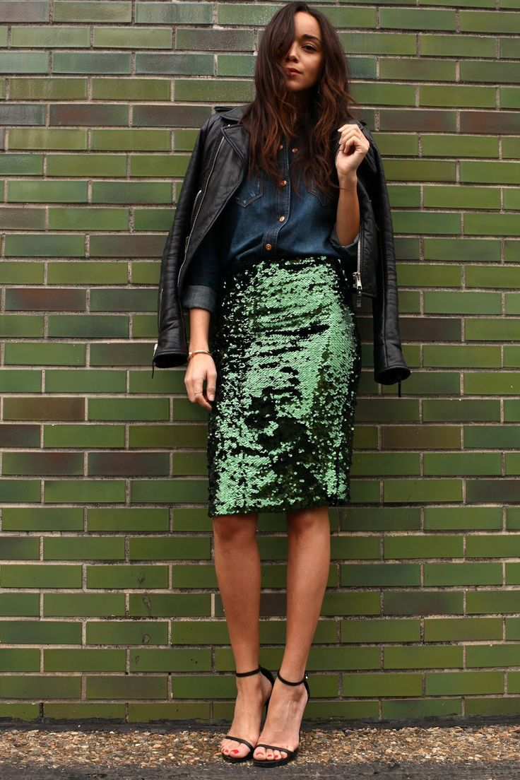 86c4e6baffdef3a70666e647826d2c2c--green-sequin-skirt-sequin-pencil-skirt